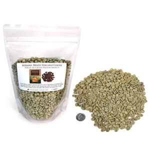 Brazil Adrano Volcano Coffee, Green Unroasted Coffee Beans