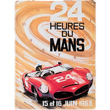 Tôle Imprimée affiche 1963