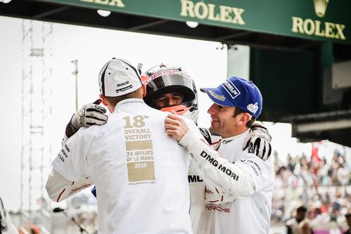 Winners Le Mans 24 Hours 2017