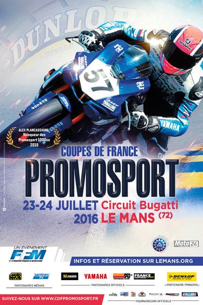 Coupes de France Promosport - Le Mans 2016