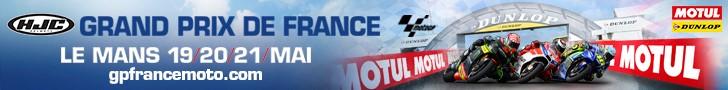 Billetterie HJC Grand Prix de France Moto Le Mans 19/20/21 mai 2017