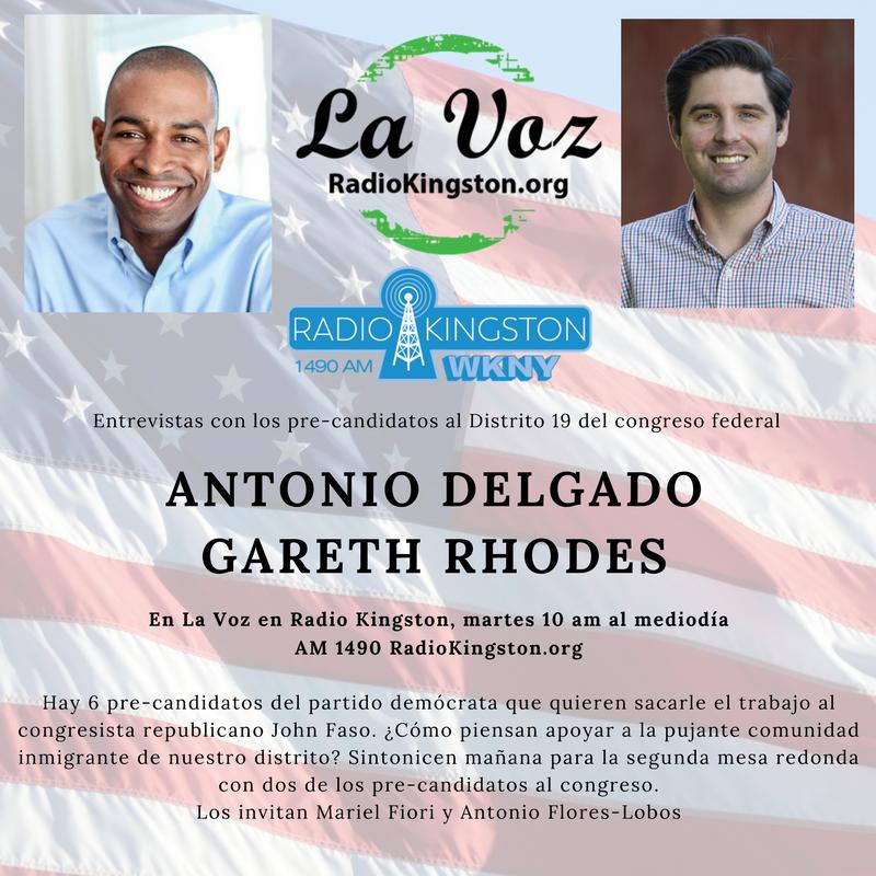La Voz interviews with Antonio Delgado and Gareth Rhodes