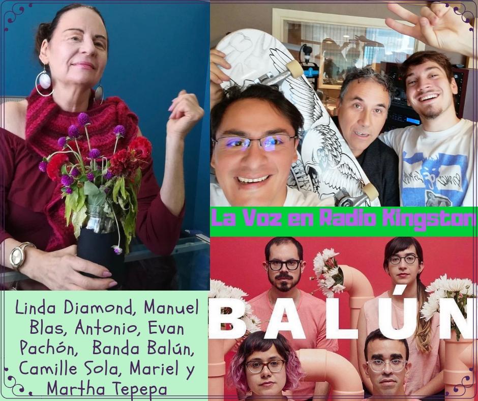 Balún, Evan Pachón, Camille Sola, Linda Diamond, Martha