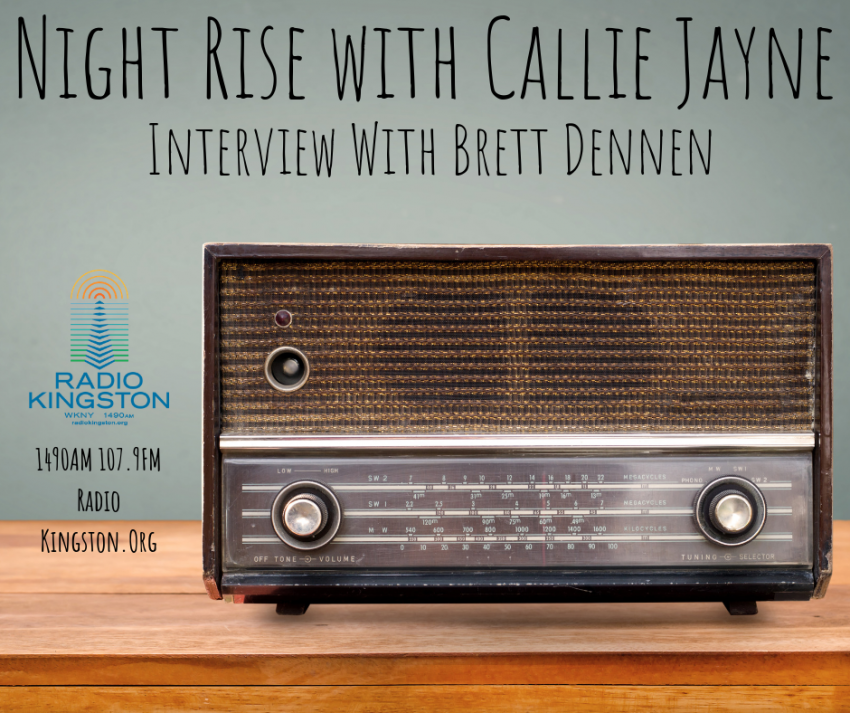 Night Rise Interview with Brett Dennen - Radio Kingston