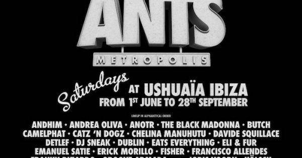 Upfrontbeats | ANTS ANNOUNCE FULL LINE-UP AND BRAND NEW