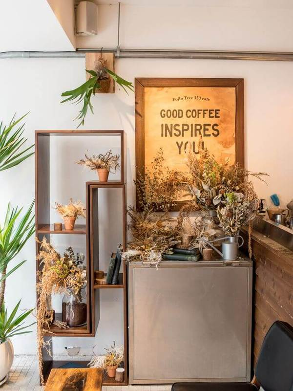 """GOOD COFFEE INSPIRES YOU"" !"