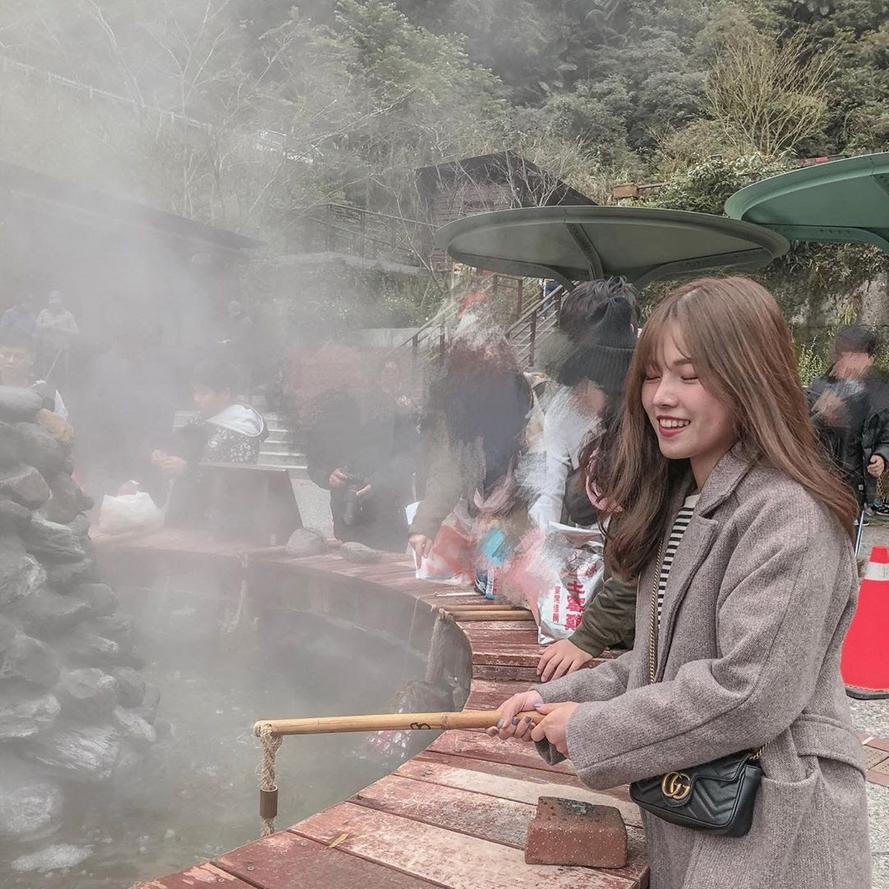 宜蘭太平山景點-鳩之澤溫泉煮蛋池