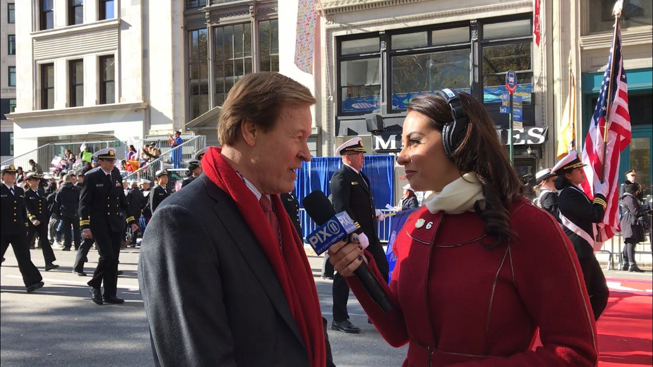 Scott Higgins Veterans Advantage Veterans Day Parade TV interview