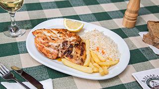 αχιλλέας-βεργίνα-κοτόπουλο-σχάρας-μερίδα