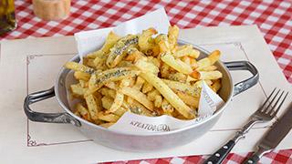 κρεατοφαγείον-πατάτες-τηγανητές-φρέσκες
