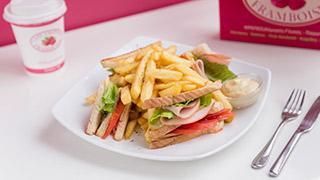 framboise-club-sandwich-ζαμπόν