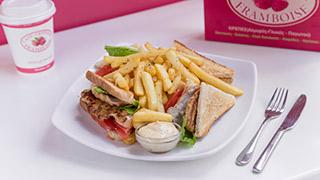 framboise-club-sandwich-κοτόπουλο