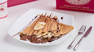 framboise-κρέπα-σοκολάτα-&-μπανάνα