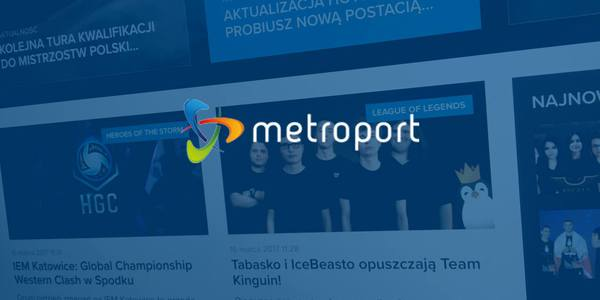 Uruchomienie E-SPORT w sieci Metroport