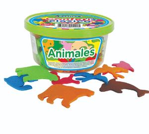 CONFETTI ADHESIVO ANIMALES JISS