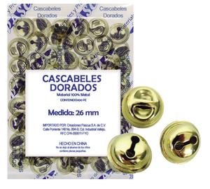 CASCABEL DORADO #5 100pz PASCUA
