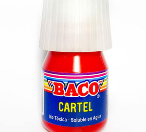 PINTURA CARTEL GERANIO 20ml BACO