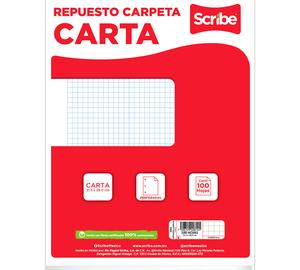 HOJA REPUESTO CARPETA C7 100h SCRIBE