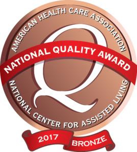 American Health Care Association - National Quality Award - National Center For Assisted Living