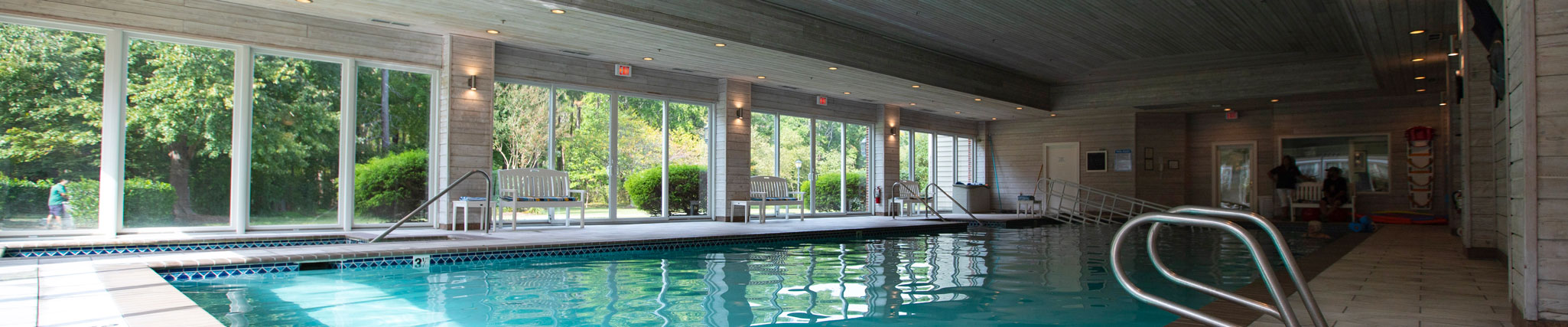 indoor pool at Atlantic Shores independent living community