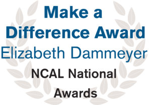 Make a Difference Award - Elizabeth Dammeyer - NCAL National Awards