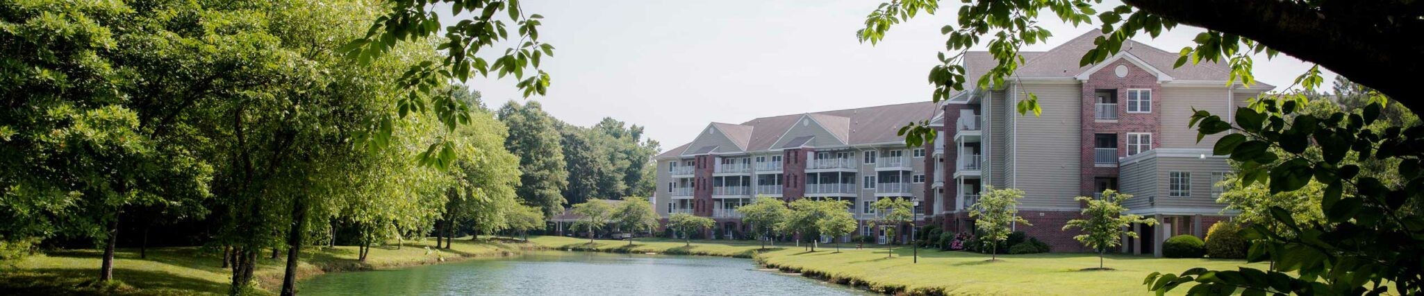 The senior living buildings