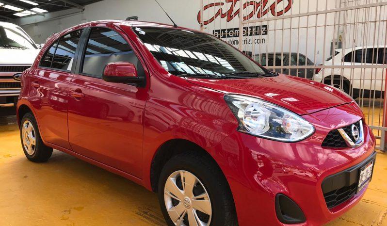 Nissan March Sense TM 2018 lleno