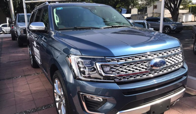 Ford Expedition 2020 Max lleno