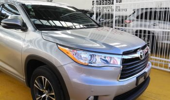 TOYOTA Highlander 2016 3.5 XLE AT lleno
