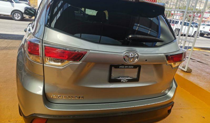 Toyota Highlander 2016 3.5 XLE AT lleno
