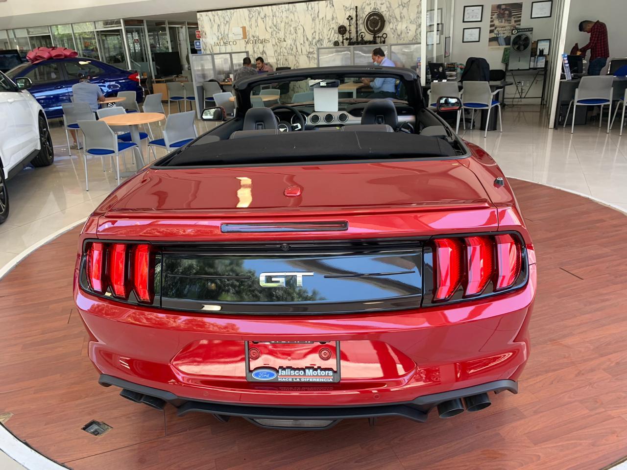 Ford Mustang, 2020 Gt V8 Convertible At lleno