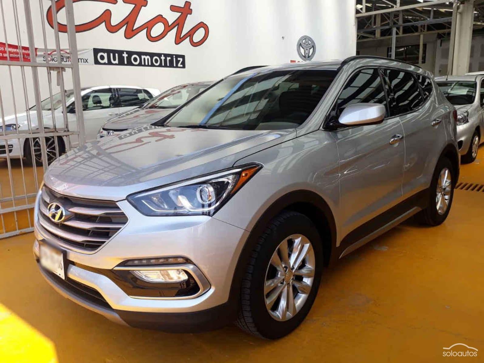 Hyundai Santa 2018