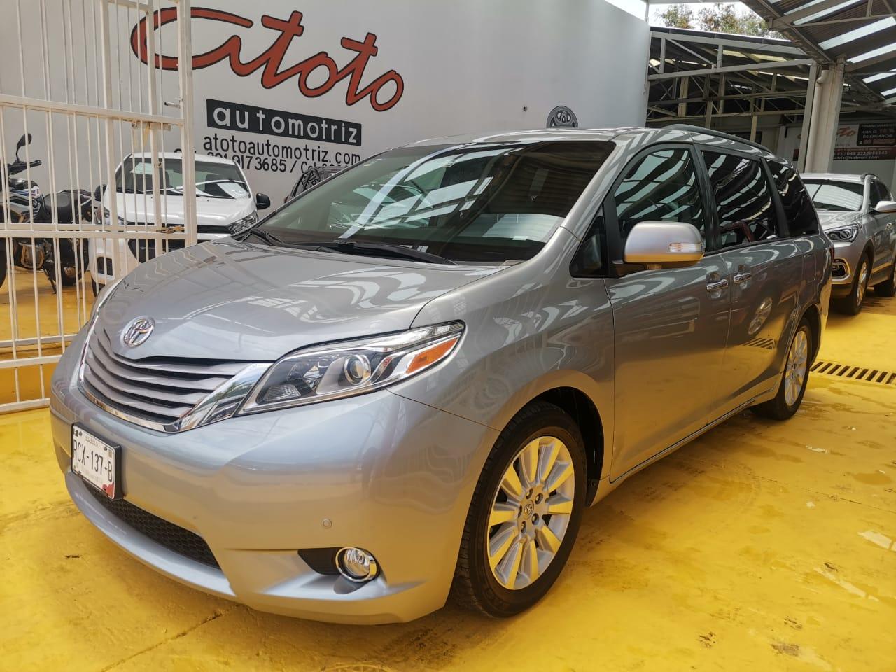 Toyota Sienna limited 201