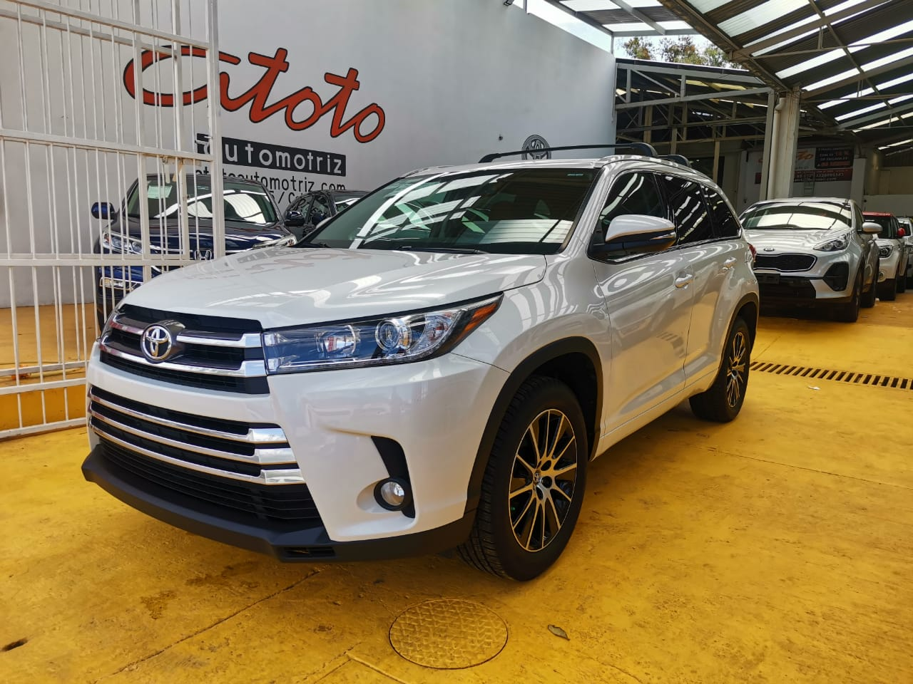Toyota highlander 2017 limited