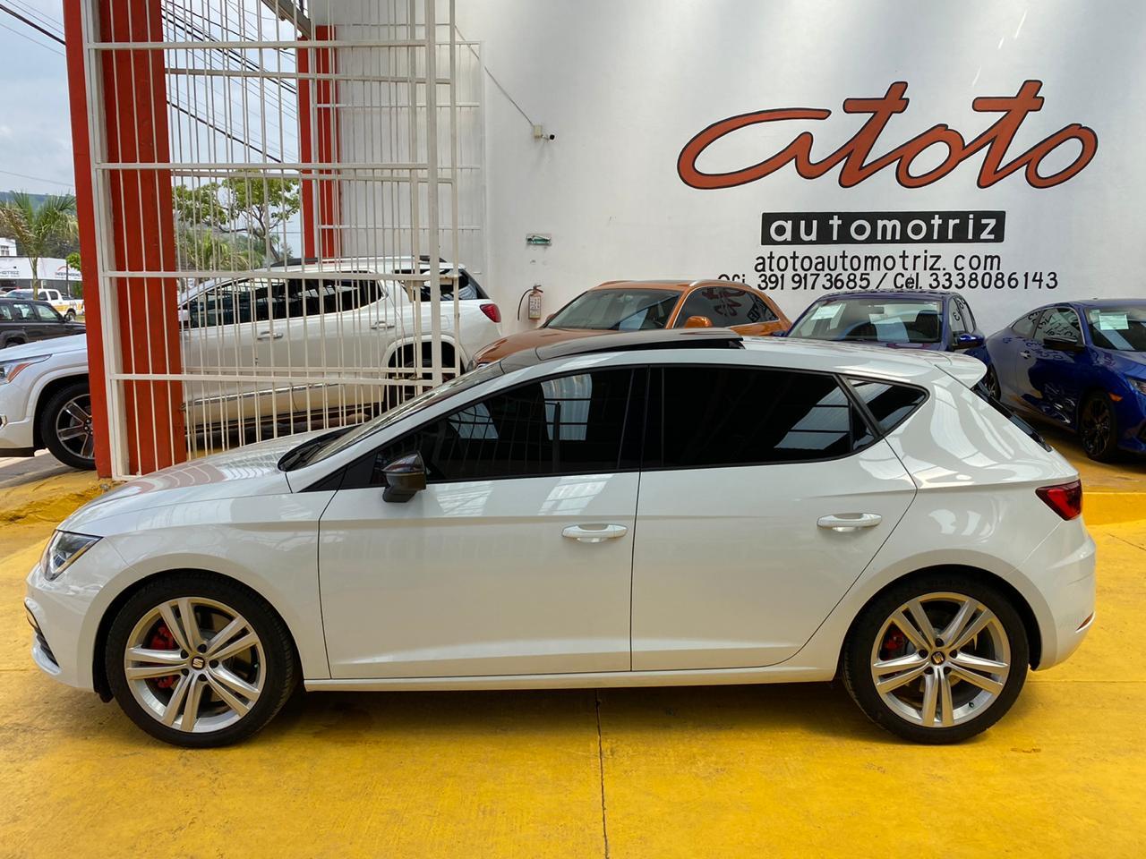 Seat Leon, 2019 At Cupra lleno