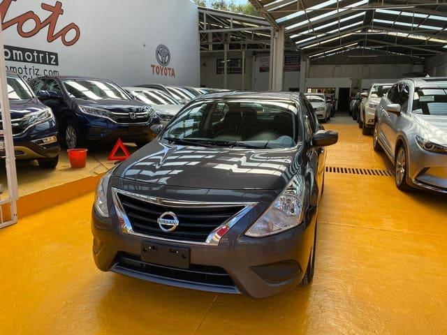 Nissan Versa, 2019 Sense AT AC lleno