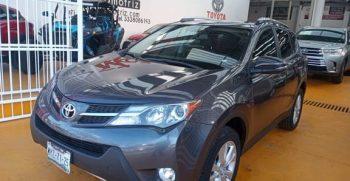 Toyota RAV4 limited platinum 2015
