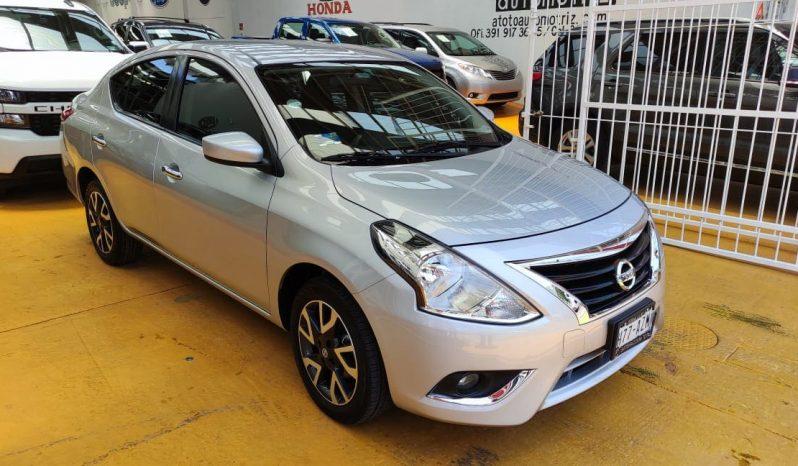 Nissan Versa, 2019 Advance MT AC lleno