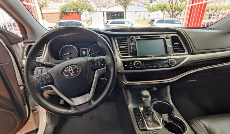 Toyota Highlander, 2018 XLE AT lleno