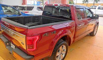 Ford Lobo, 2015 Platinum Crew Cab lleno