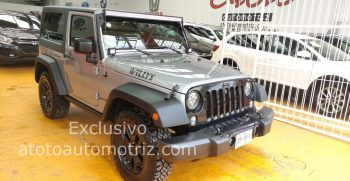 Jeep wuagler Willys 2014
