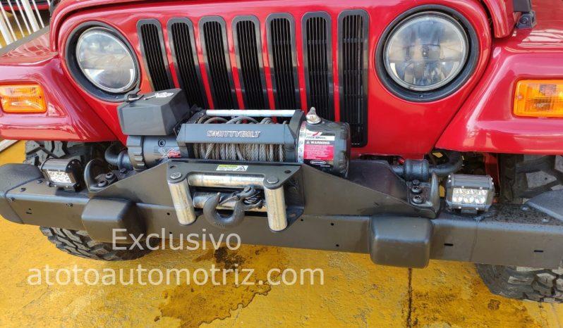 Jeep Wrangler, 1997 Rubicon lleno