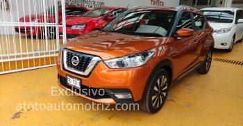 Nissan kicks exclusive Ocre