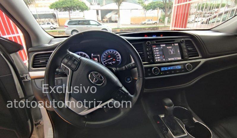 Toyota Highlander, 2018 Limited lleno