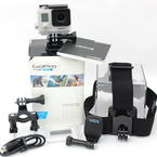 GoPro HERO3 White Edition CHDHE-302 Camcorder 64gb With Extras