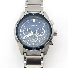 FOSSIL MEN'S CH2841 CHRONOGRAPH WATCH BLUE DIAL CH-2841