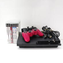 Sony Playstation 3 PS3 CECH-2501A 160GB Matte Black Console With Games Bundle