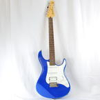 Yamaha Pacifica PAC012 Double Cutaway Electric Guitar Metallic Blue Solid Wood