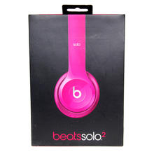 Beats By Dr. Dre Solo HD B0518 Wired On-Ear Glossy Pink Headband Headphones