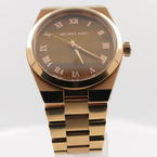 Ladies Michael Kors Rosegold Tiger Eye MK-5895 Quartz Watch MK5895